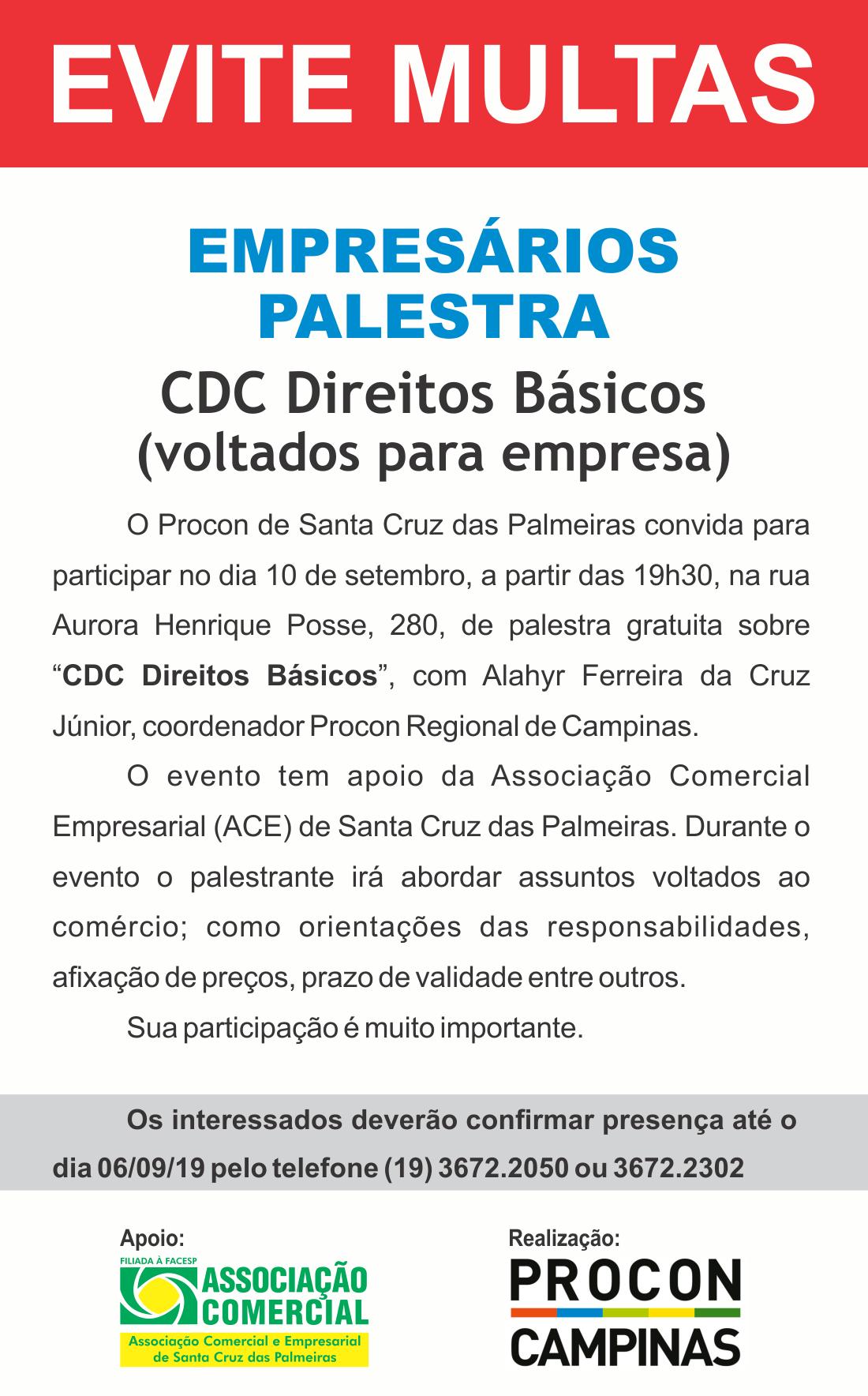 Palestra PROCON – CDC Direitos Básicos